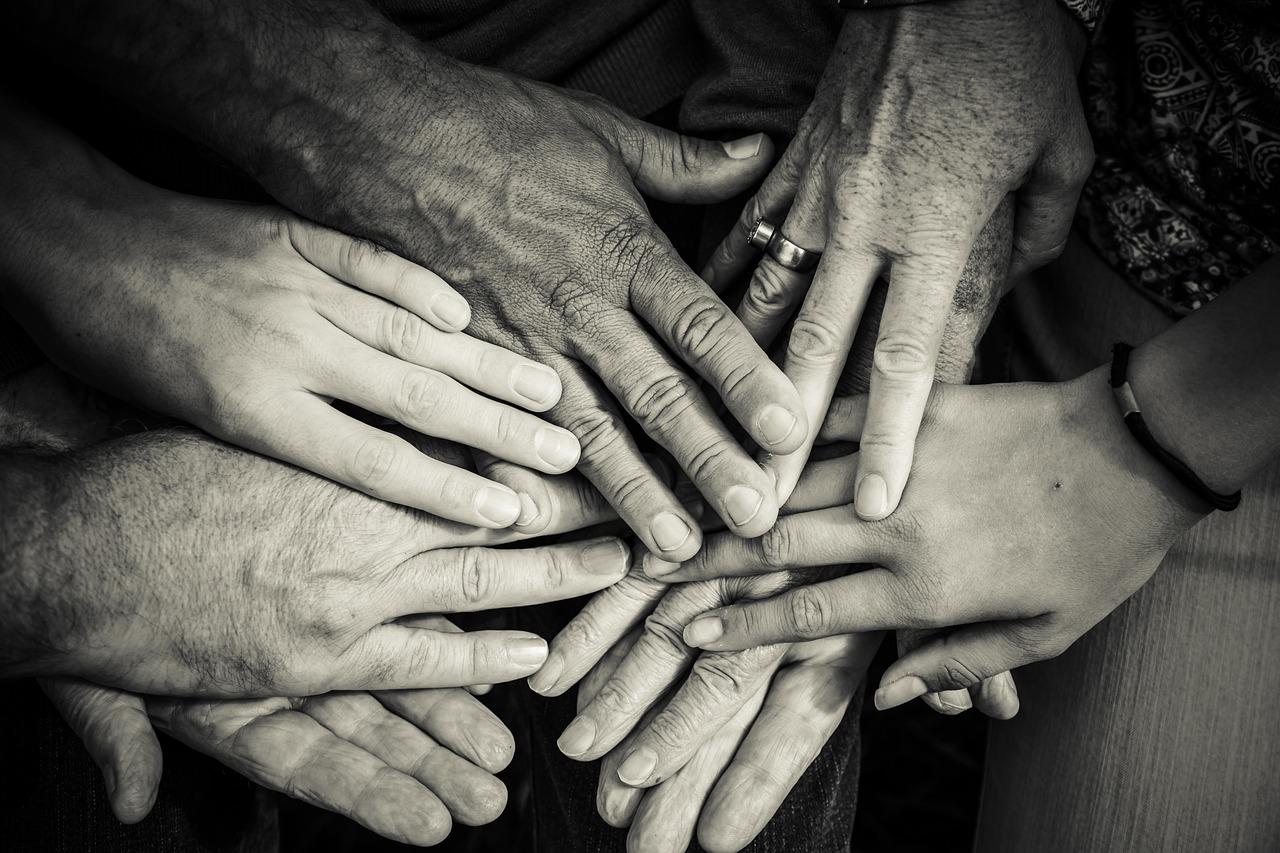 Hand Oberflächen