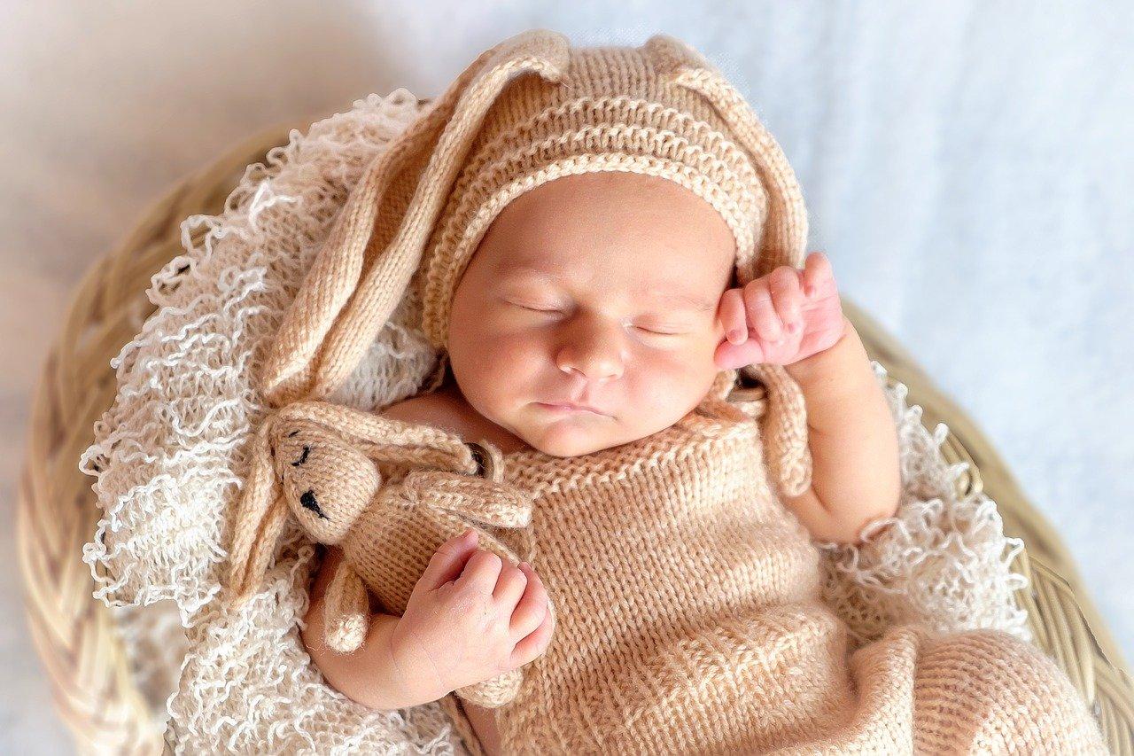 baby am schlafen