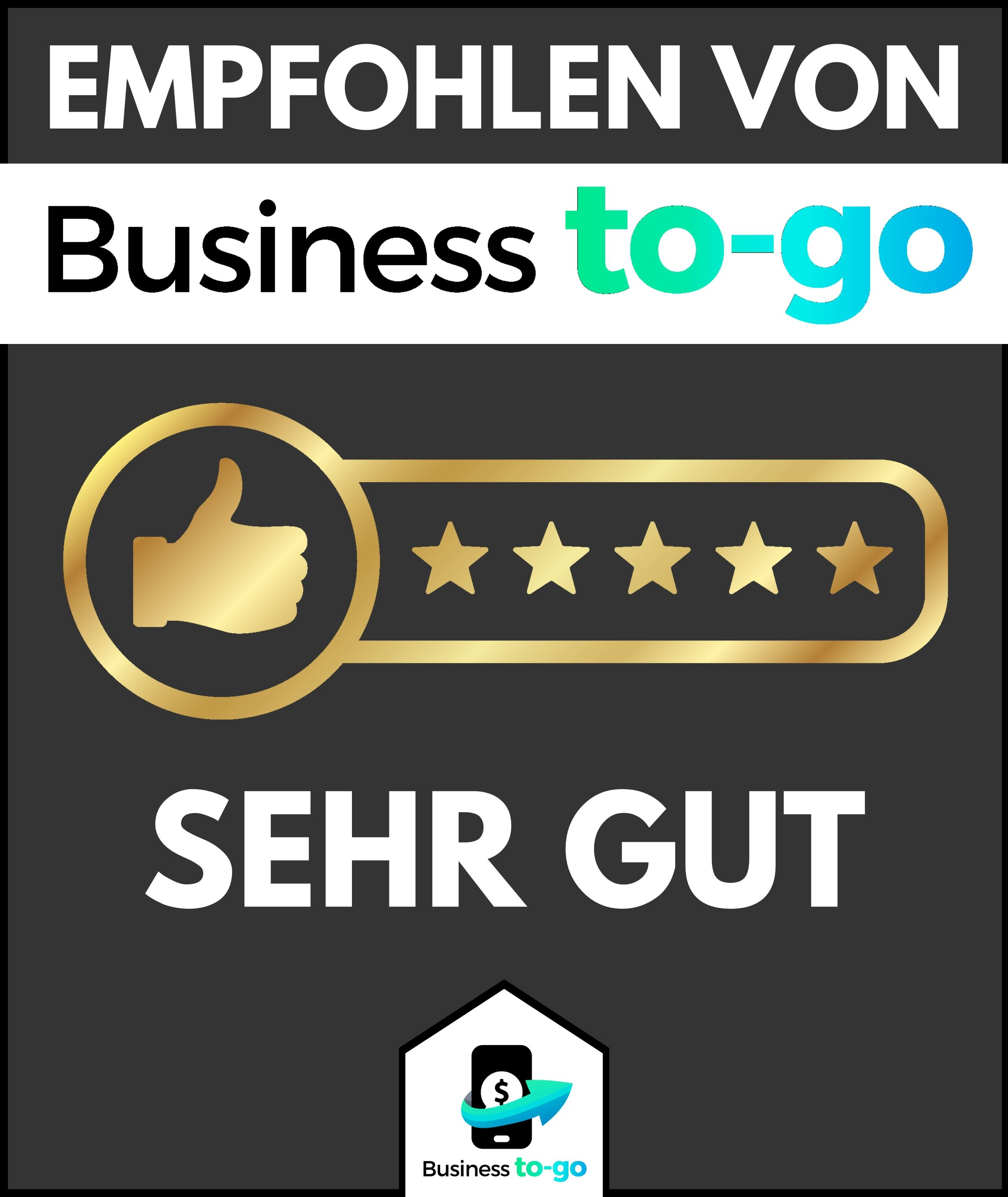 business to go Empfehlung