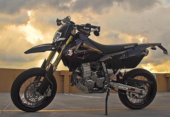 Suzuki drz 400sm - A2 Motorrad