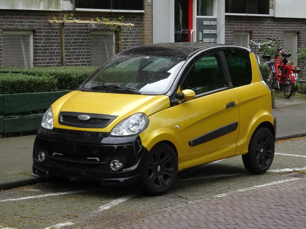 vierrädriges Kraftfahrzeug - Microcar