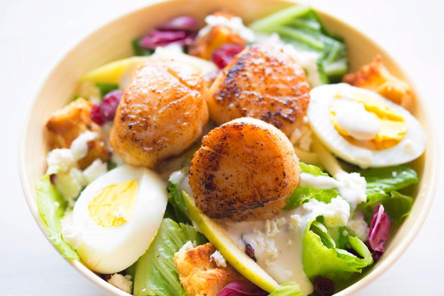gesunde Nahrungsmittel und leckere Rezepte