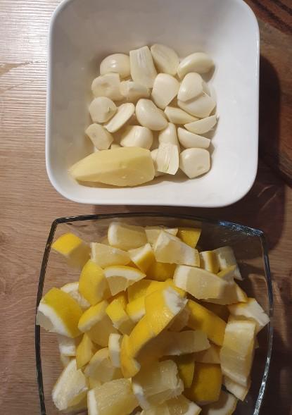 Knoblauch Zitronen Kur