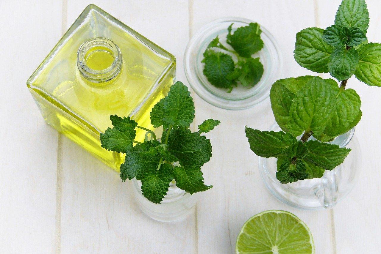 Das beste Hausmittel gegen deine Kopfschmerzen - Pfefferminzöl!