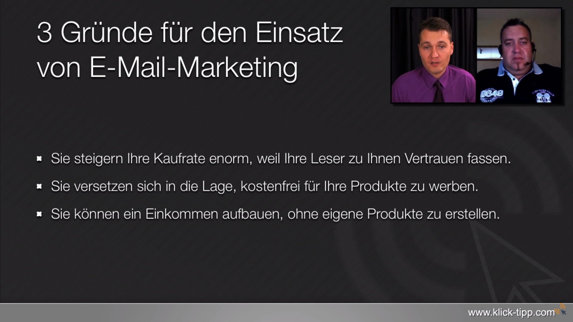 218.865 Euro Umsatz mit professionellem E-Mail-Marketing
