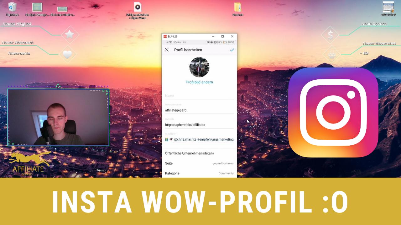 Beeindruckendes Instagram Profil gestalten - Meine 6 Tipps 😃
