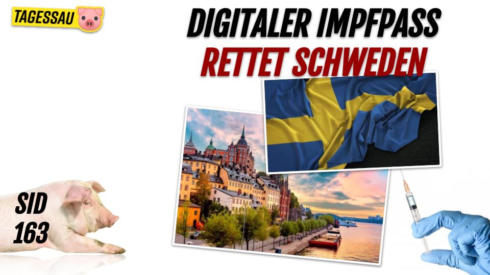 SID 163 - Hygiene in Schweden - Digitaler Impfpass statt Lockdown!