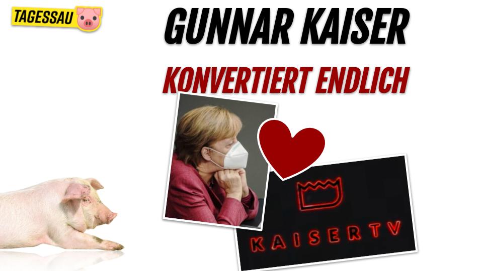 """Corona Kult"" Gunnar Kaiser konvertiert zu der neuen beliebten Virus Religion"