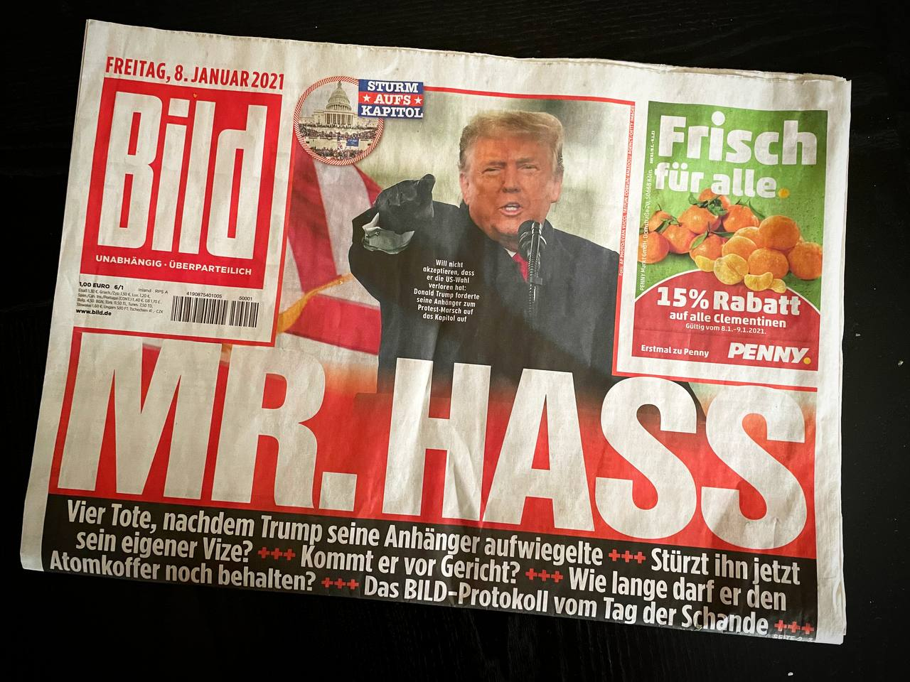 BILD kürt Mr. Hass 2021