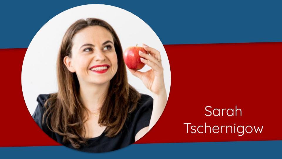 Sarah Tschernigow Speakers Day 2020