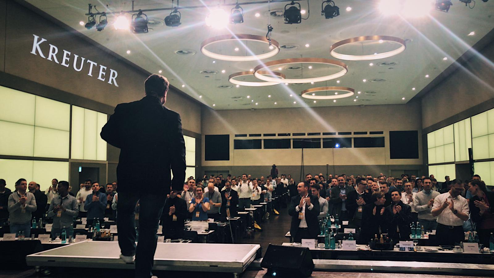 Stehende Ovationen in Dortmund! Mindset Seminar mit Dirk Kreuter