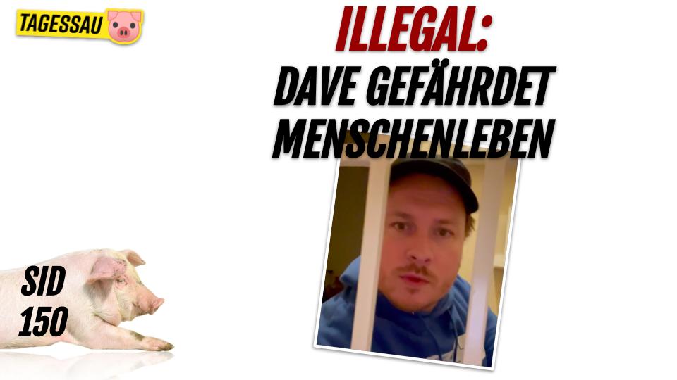 SID 150 - illegal: Dave gefährdet Menschenleben - Sau im Dorf mit Dave Brych