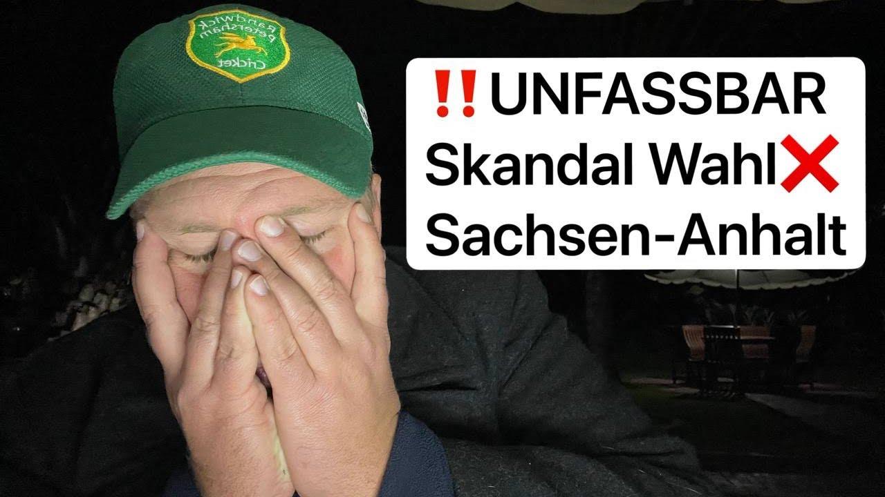 TV Frontal - ❌ Unfassbar: Wahl in Sachsen-Anhalt