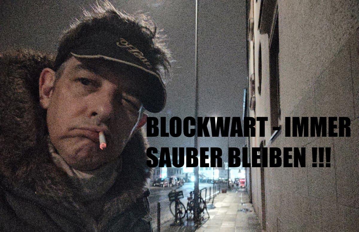 BLW 004 - Blockwart Immer sauber bleiben