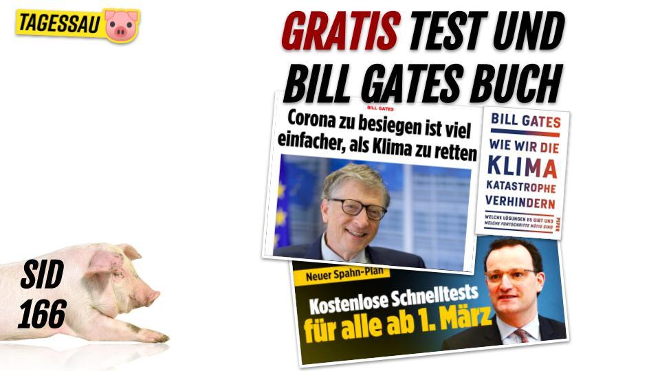 SID 166 - Schnelltests für alle und Bill Gates Neues Buch