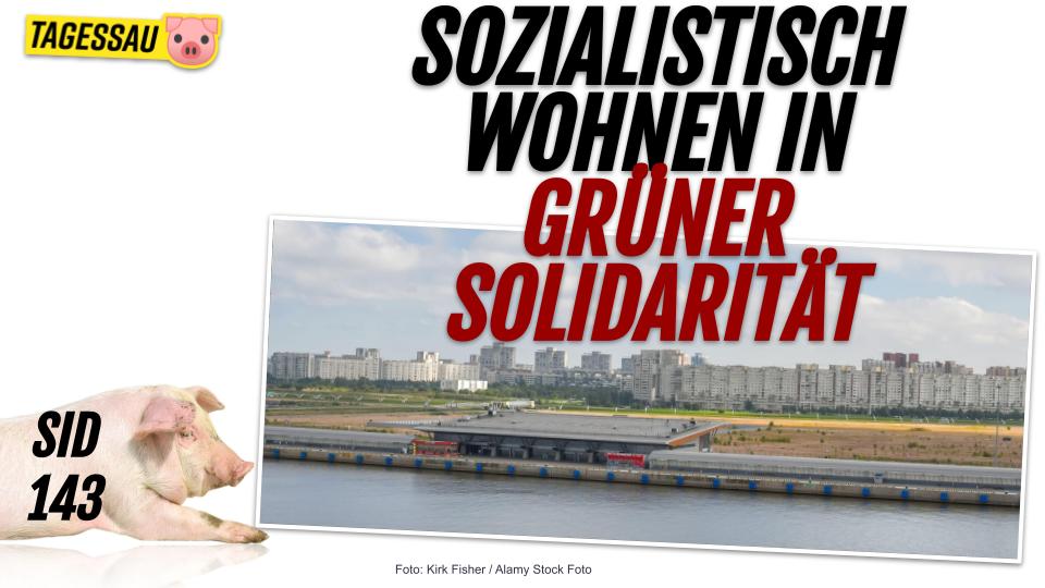 """SID 143 - """"sozialistisch wohnen"""", heißt grün und solidarisch! Kommunalka für alle!"""