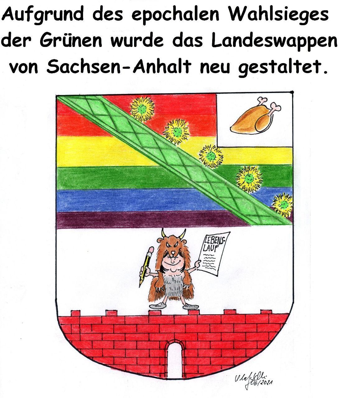 Nach der Wahl: Neues Landeswappen für Sachsen-Anhalt