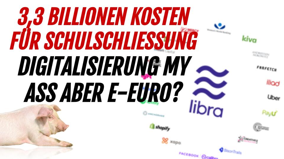 SID 135 - 3,3 Billionen Kosten für Schulschließung, keine Digitalisierung aber E-Euro