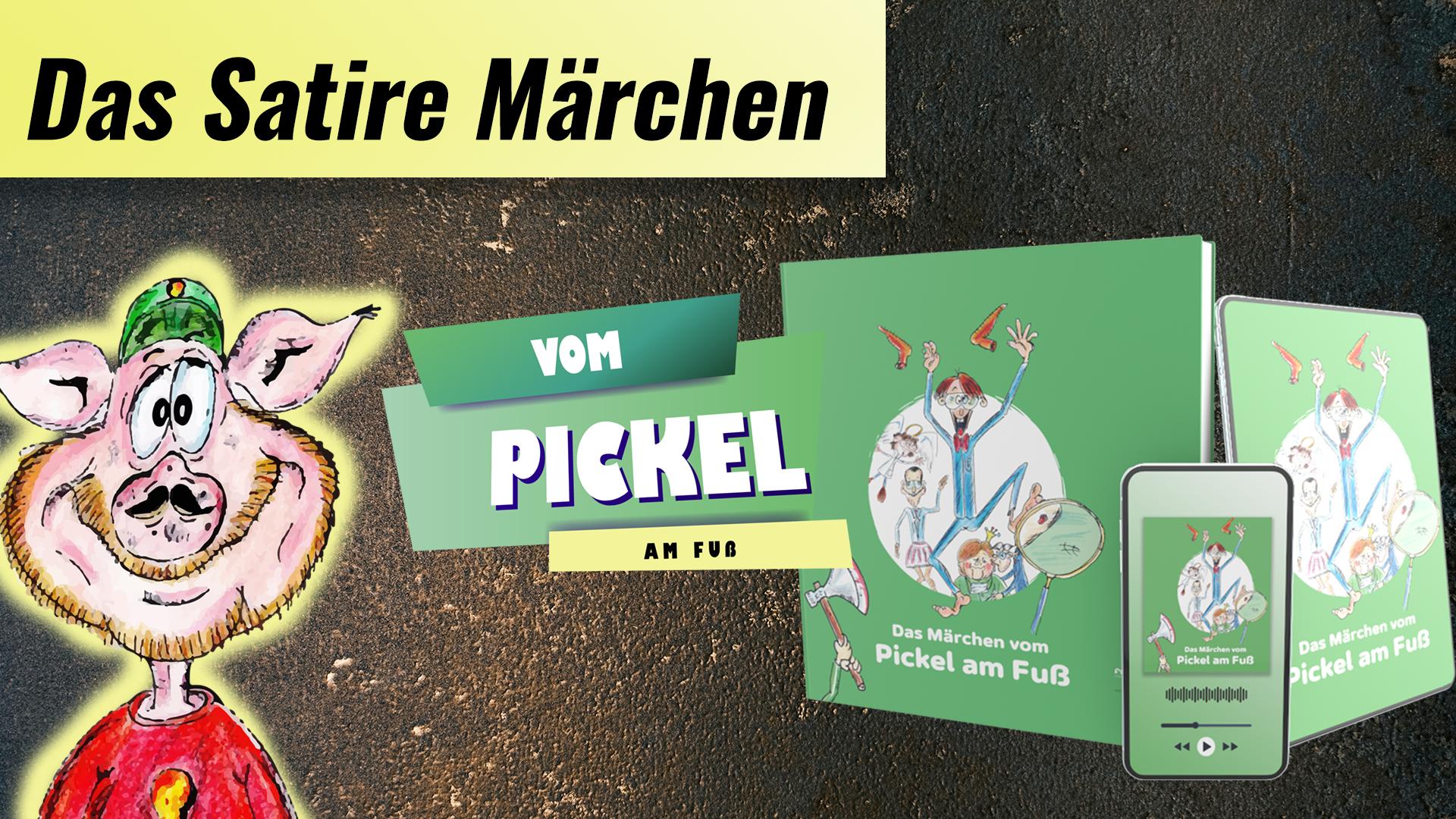 satirisches Märchen vom Pickel am Fuß