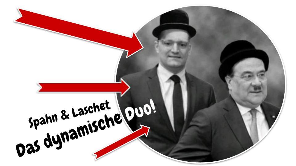 Das dynamische Duo? Spahn und Laschet