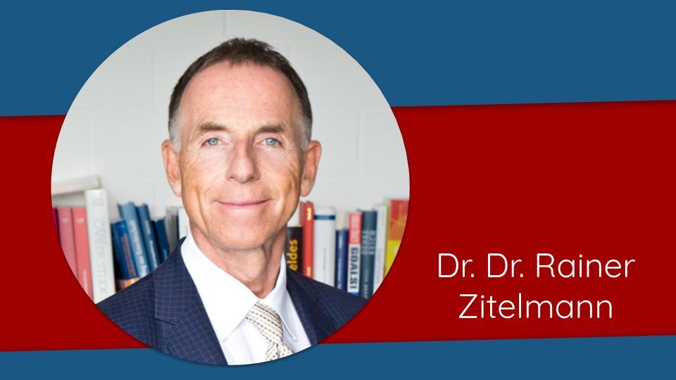 Dr Rainer Zitelmann Speakers Day 2020