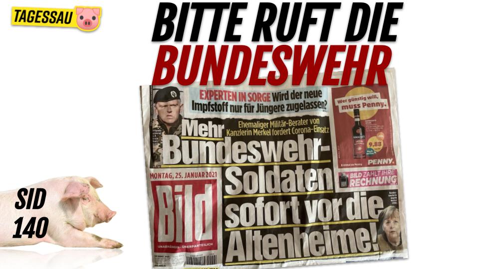 SID 140 - Bundeswehr Einsatz erforderlich, Deutsche flüchten wegen Impfung