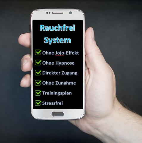 Sofort Rauchfrei System Handy