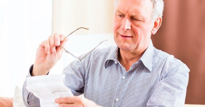 Alterssichtigkeit Presbyopie Lesebrille Alter