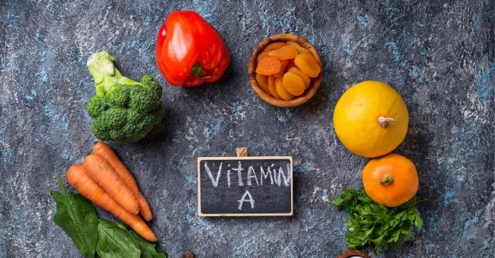 Vitamin A Mangel bei trockenen Augen