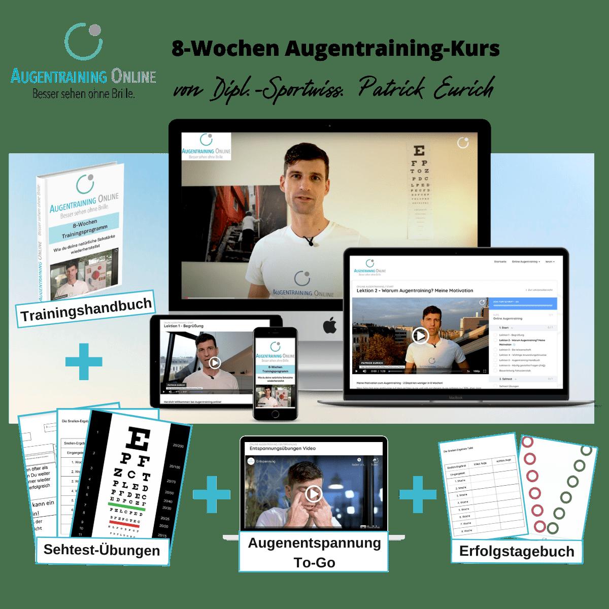 Augentraining Online Seminar Webinar Login