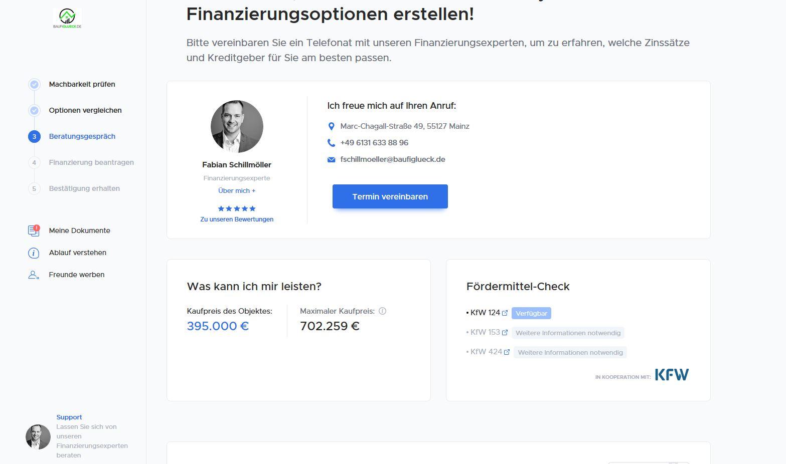 Kundenportal Baufiglueck.de