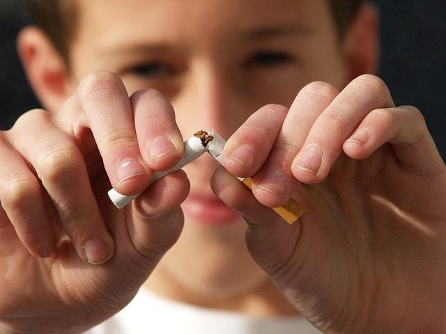 Bluthochdruck senken durch nicht rauchen