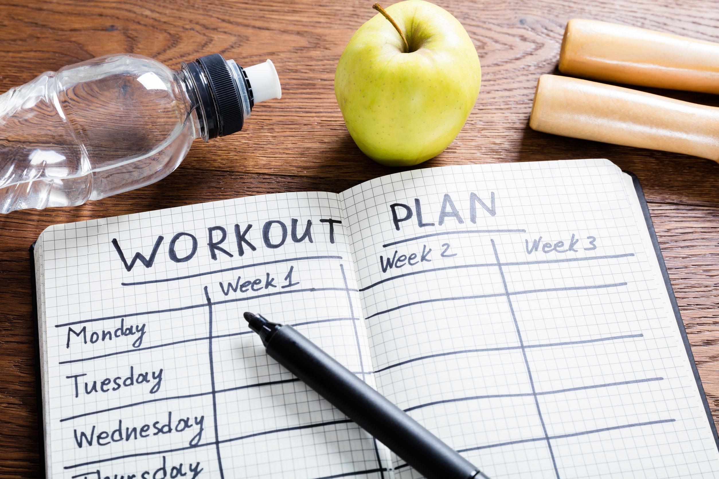 Trainingsplan zum Muskelaufbau