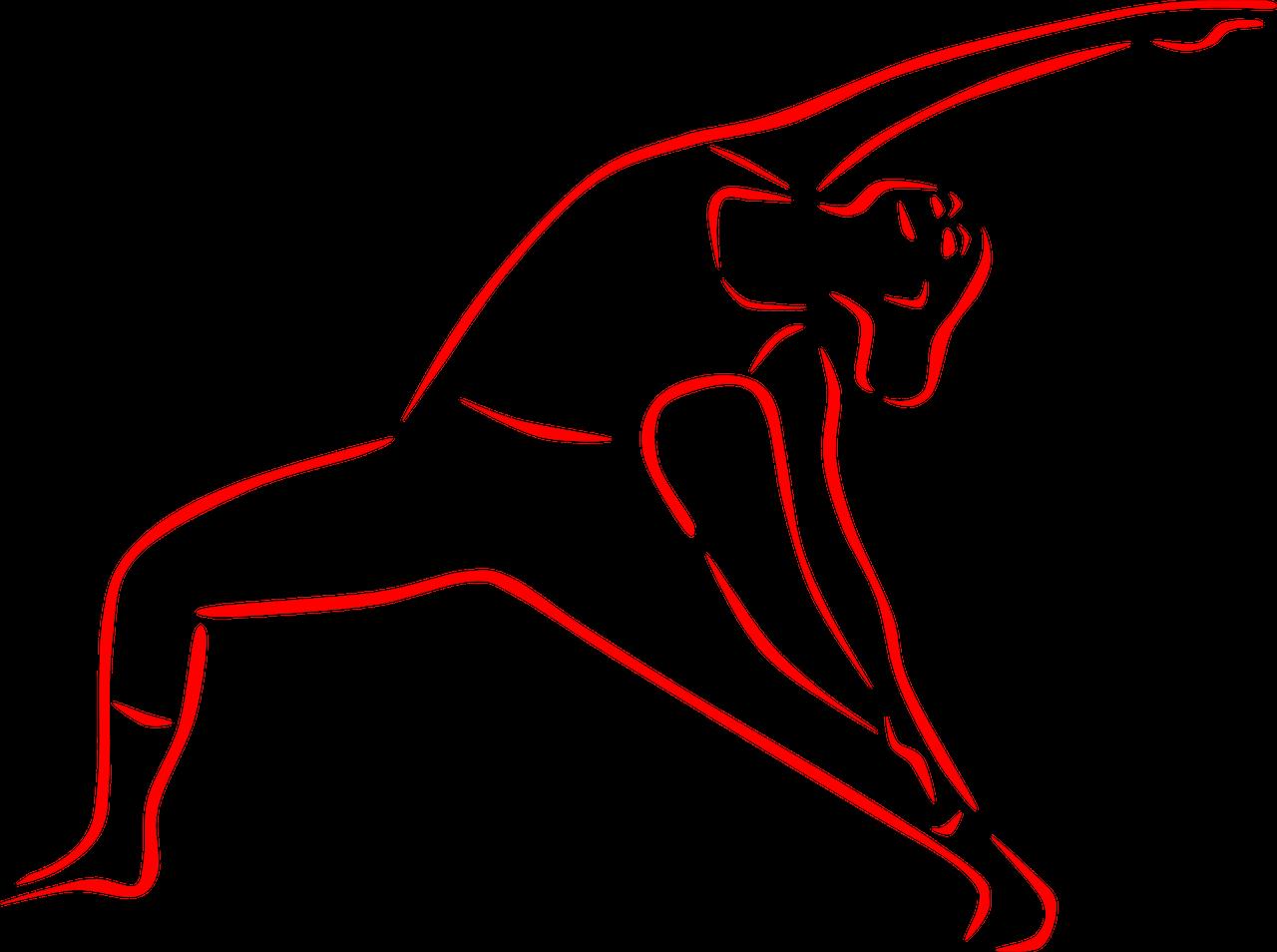 """2 von 6 Asana - Kategorien - """"Seitbeugen"""" - Übung"""