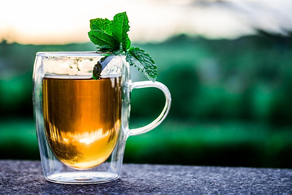 Appetitanreger Tee und Minze