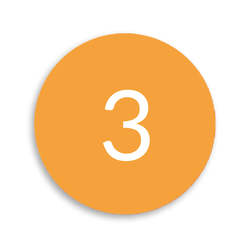 Kreis Orange Drittens: Krafttraining und Muskelaufbau
