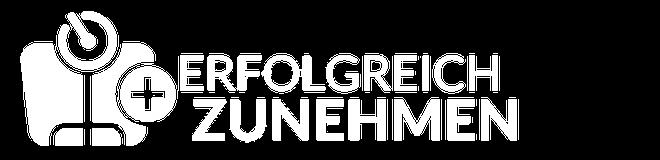 Logo - Erfolgreich Zunehmen weiß