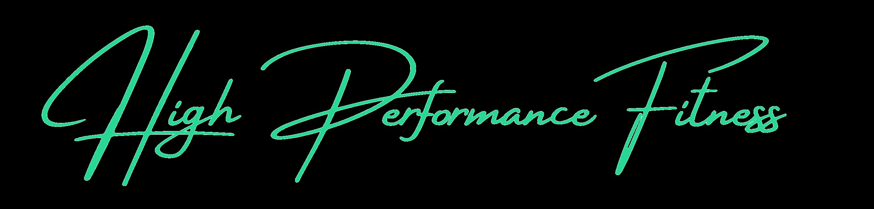 High Performance Fitness, Fitnessprogramm