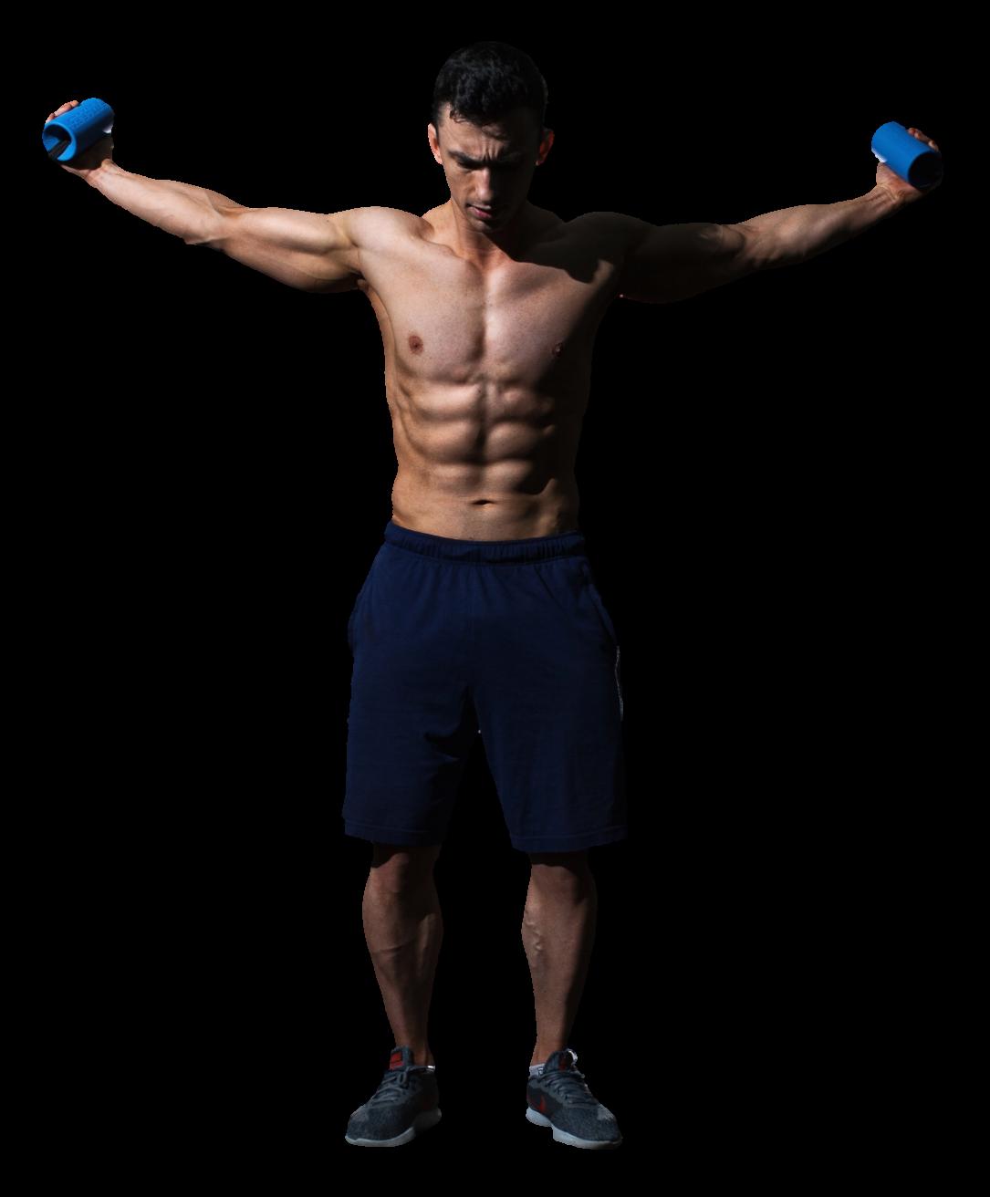 Body-Transformation, Muskeln aufbauen, Muskeln definieren