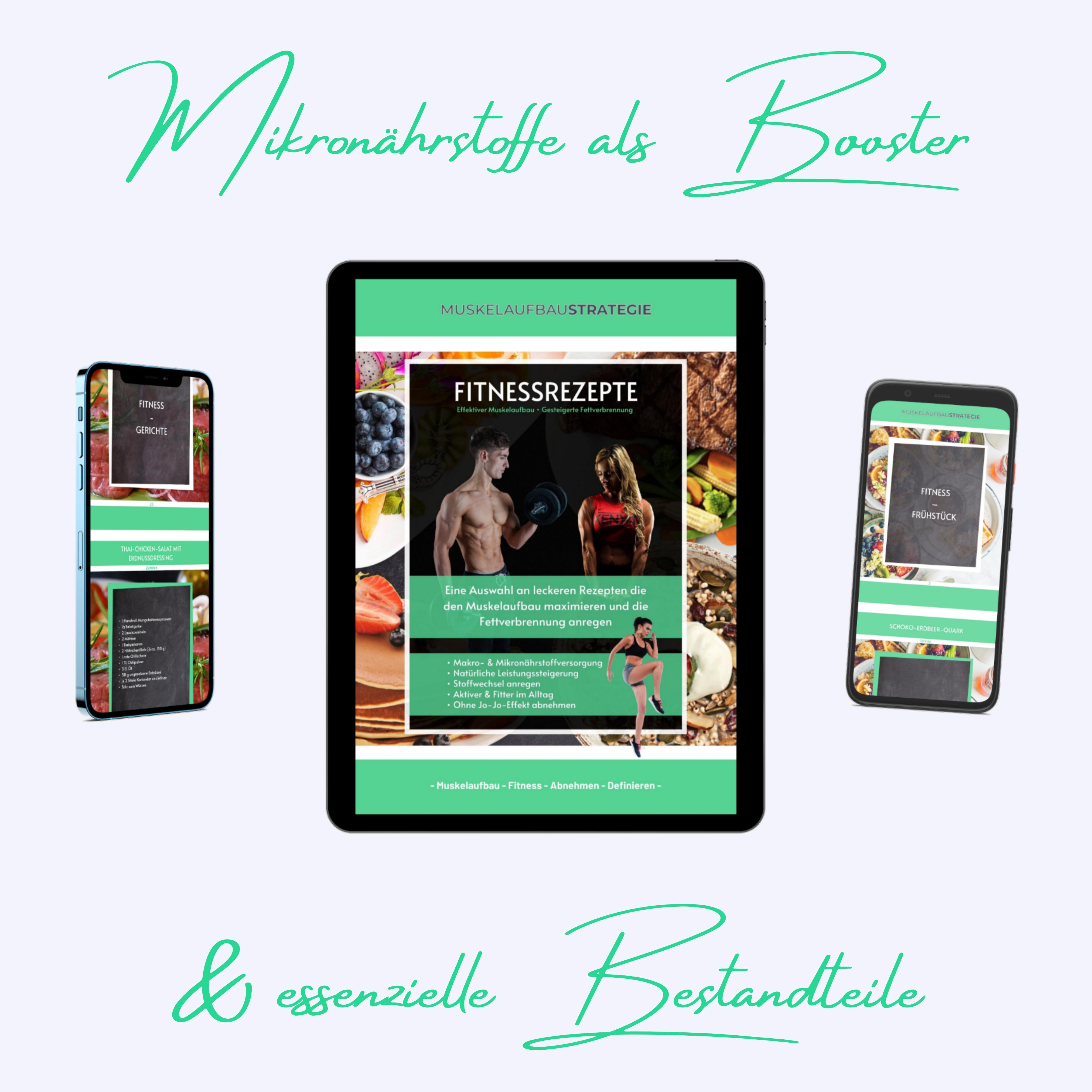 Fitnessrezepte, Fitness Kochbuch, Download