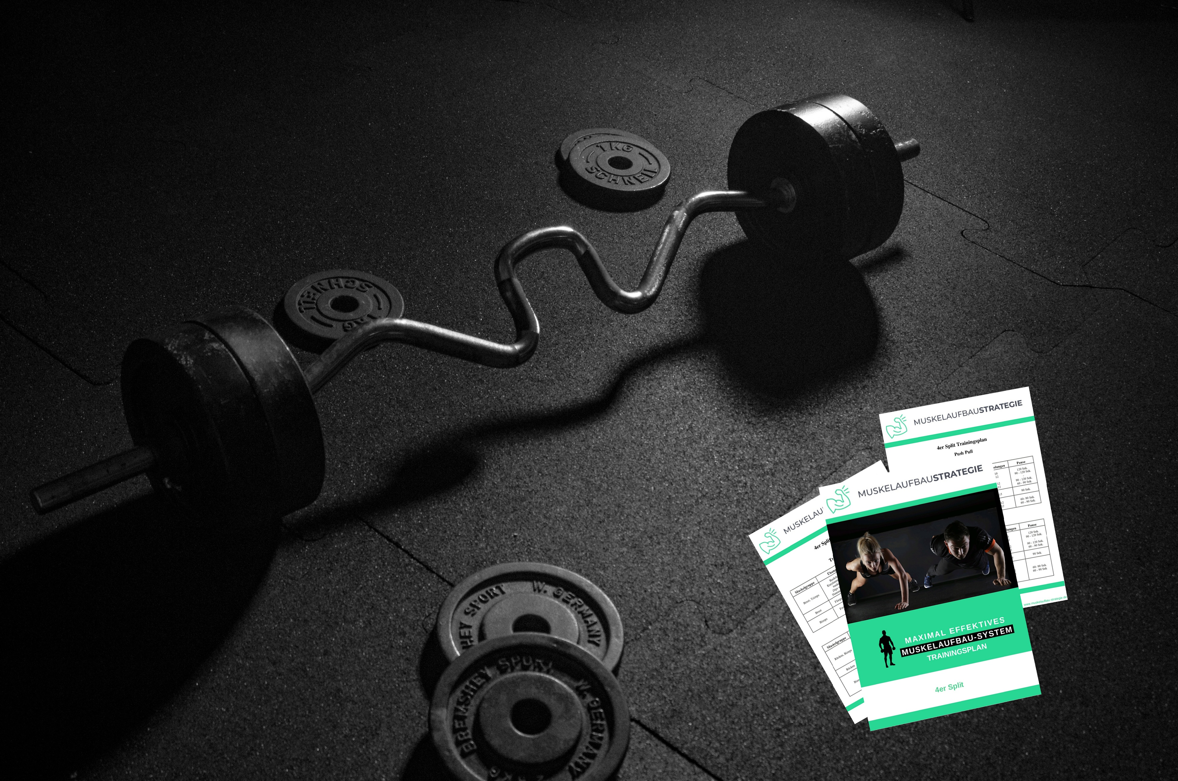 Trainingsplan, Trainingsplanung, Hantel, Gewichte