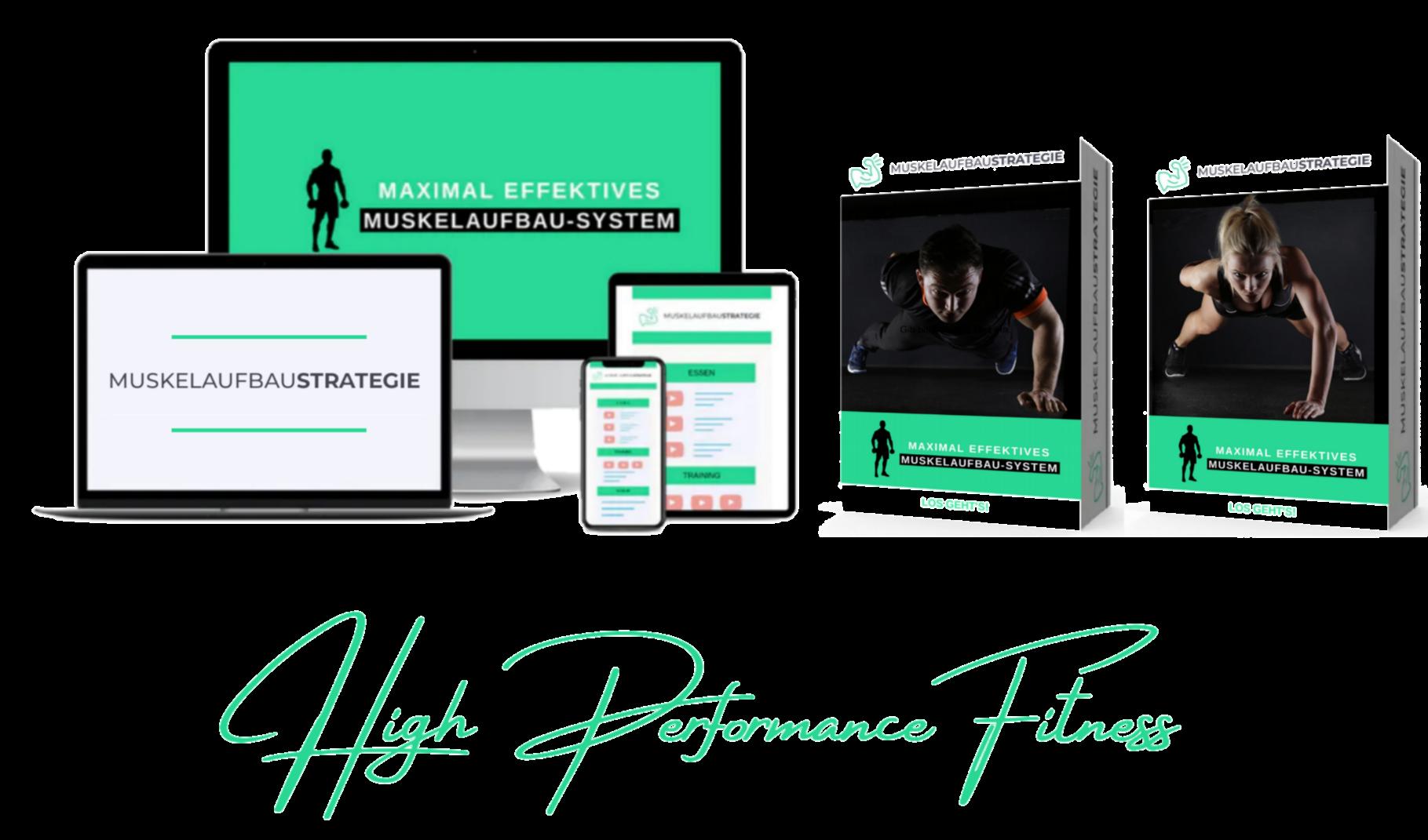 Trainingsplan, Trainingstagebuch, Fitnessrezepte, Performance Guide