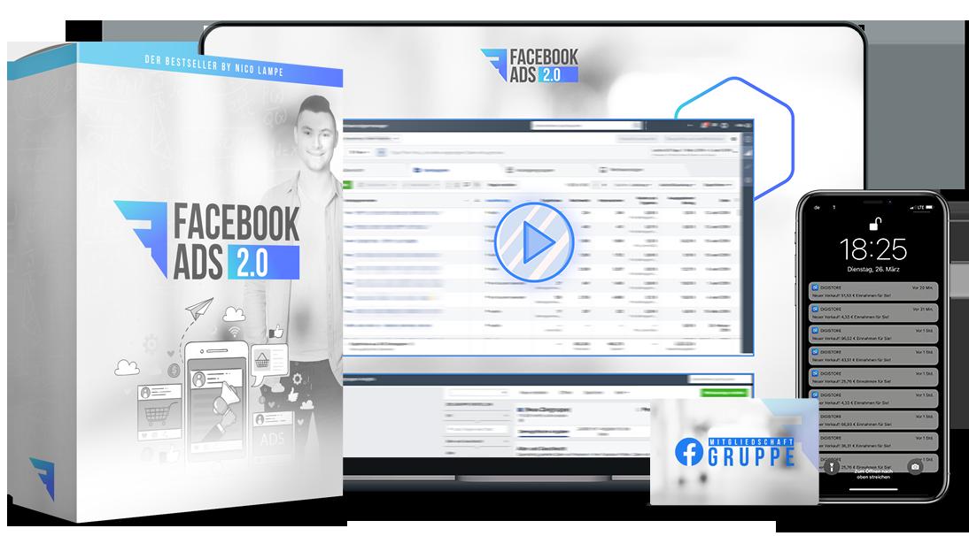 Geldverdienen mit Facebook Werbeanzeigen
