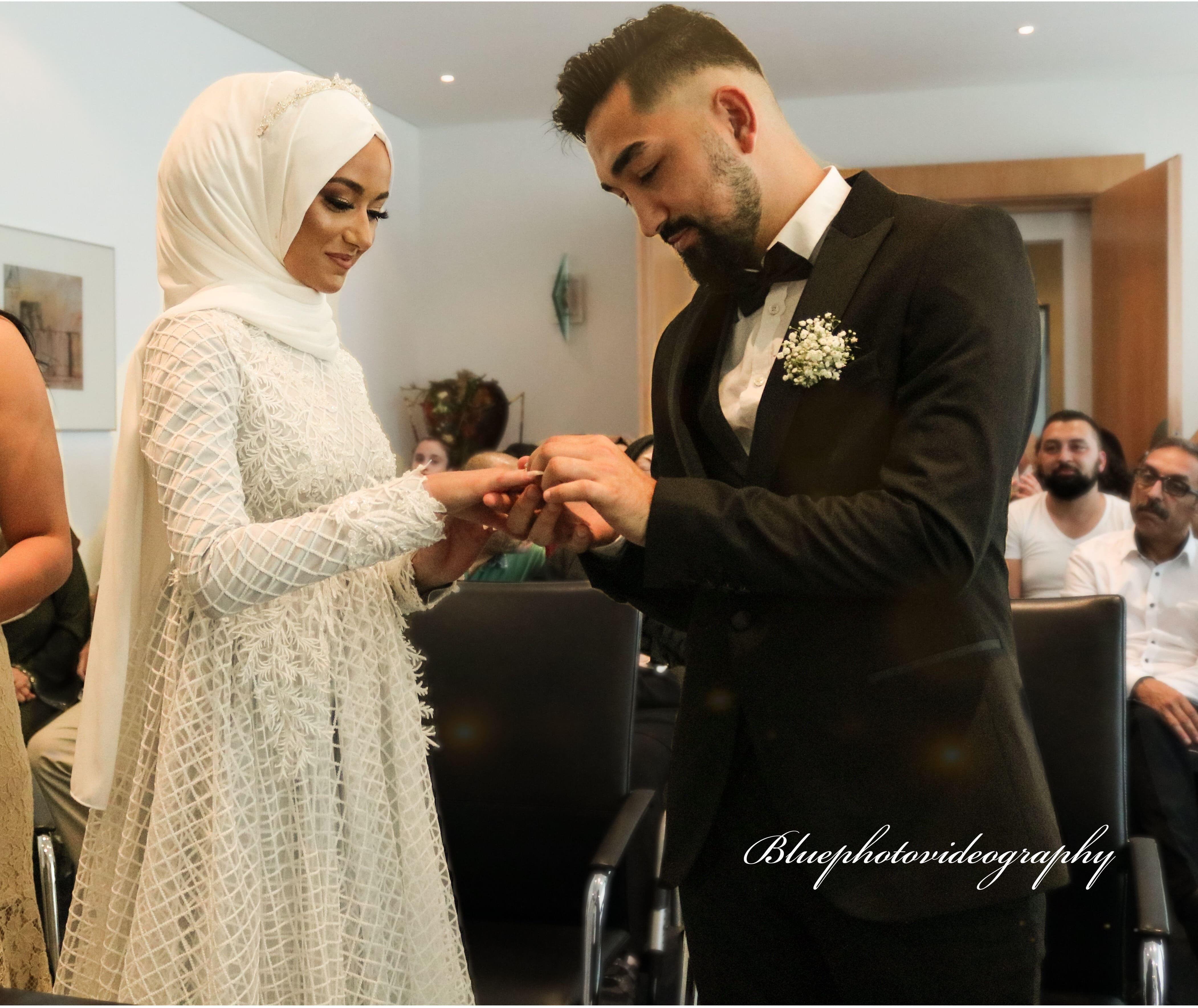 Fatima und Abdurrahman Trauung Standesamt Kamen