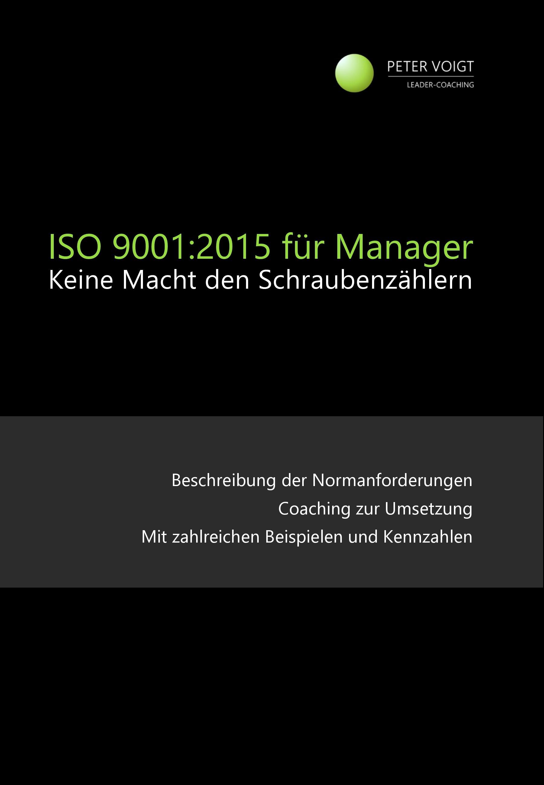 ISO-9001:2015-Keine Macht den Schraubenzählern