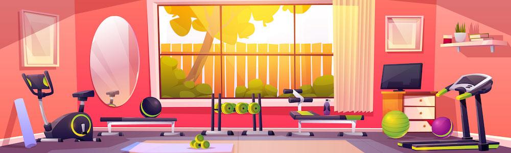 fitnessstudio-zu-hause-leerer-raum-mit-sportgeraeten-illustration