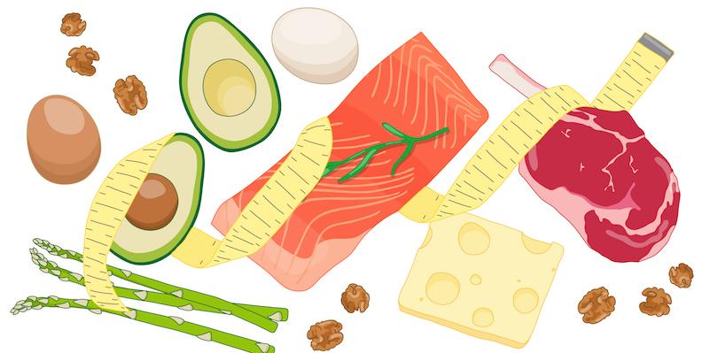 proteinreiche ernährung konzept zum abnehmen und muskelaufbau