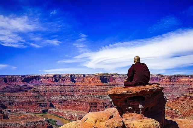 Meditierender Budda