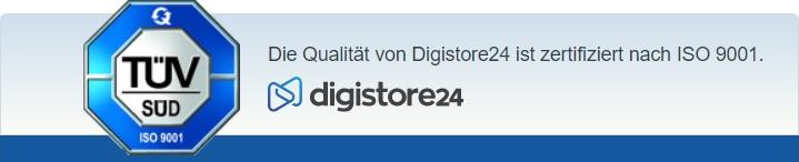 TÜV Siegel von digistore24.com
