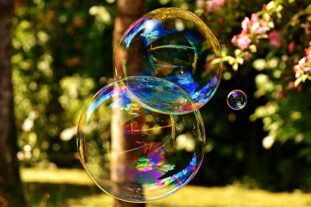 je disziplinierter du bist, desto leichter ist dein leben wie eine seifenblase